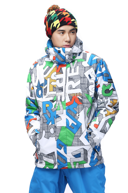 2015 hot selling mens waterproof thermal windproof ski jacket snowboarding jacket lightweight ski parka men skiwear(China (Mainland))