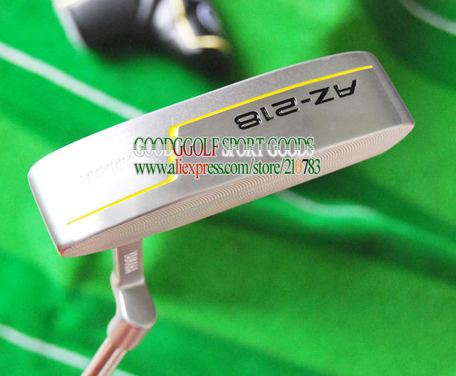 New golf putter AZ-218  Putter clubs steel shaft 33/34/35 inch silver color with putter headcover golf clubs Free Shipping