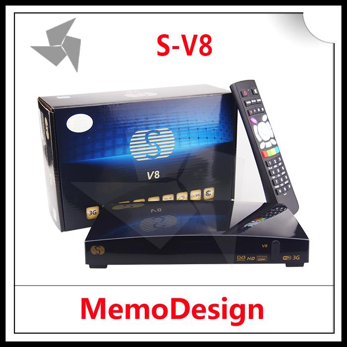 SKYBOX V8 / S-V8 HD Satellite TV Receiver Support CCcam NEWcam Biss key Youporn WebTV EPG DVB-S2 Set Top Box New model SKYBOX(China (Mainland))