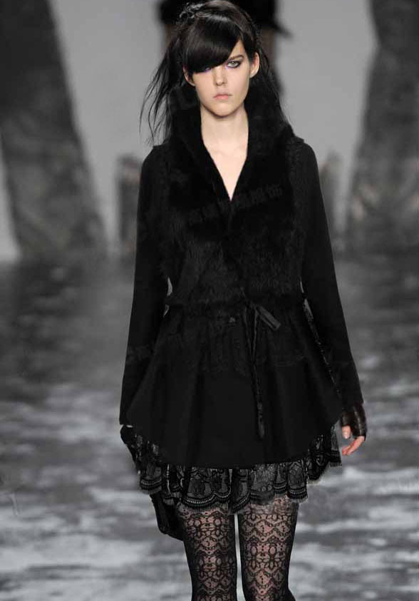 2016 Genuine rabbit fur vest women address coat winter jacket custom big size F525 - Cocol colette Fashion co.,Ltd store