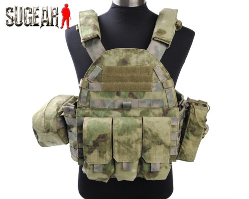 Tactical 1000D Nylon 6094 Style Plate Carrier Vest Airsoft Hunting Paintball Molle Vest Plate Protection CS Game Vest A-TACS FG<br><br>Aliexpress