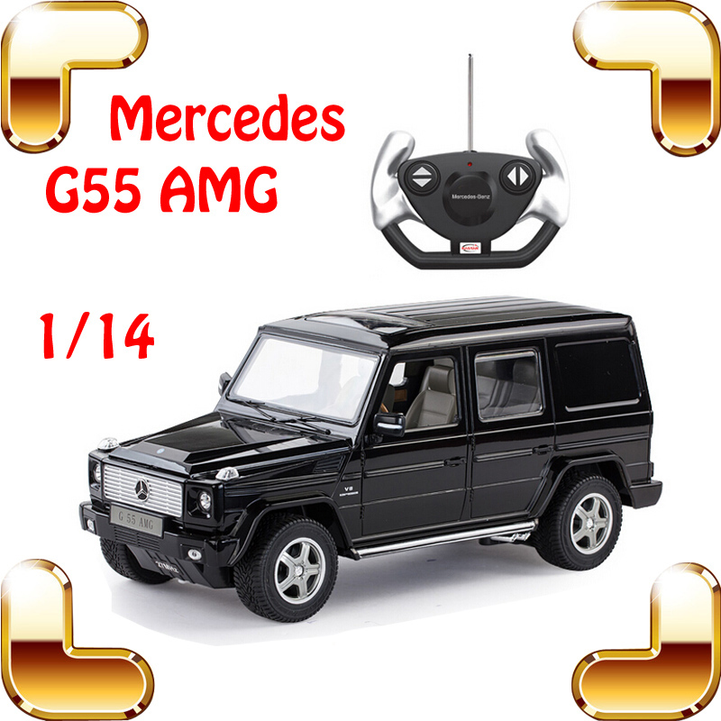 Big Fans Gift 1/14 Mercedes G55 AMG RC Radio Control Car Motor Electric Machine Toy Fun Drive Vehicle Drift Moving Family Game(China (Mainland))