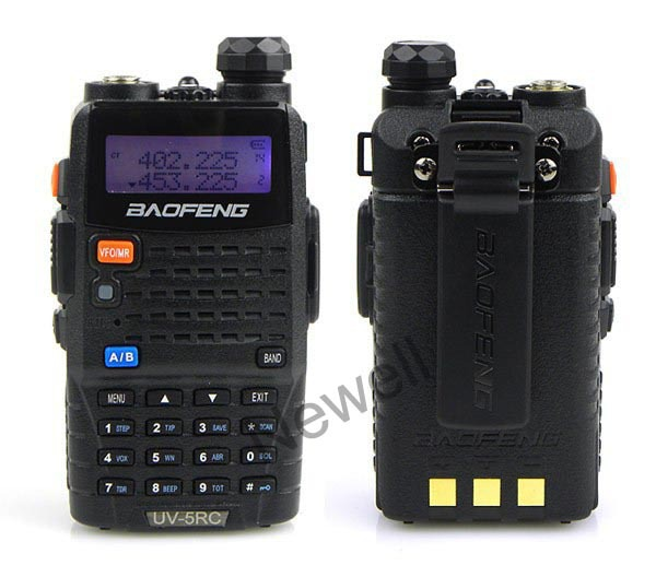 +Free Earpiece Baofeng UV-5RC Dual Band 2 way radio 5W 128CH FM transceiver Ham Radio 136-174/400-520Mhz - Newell E-Shop store
