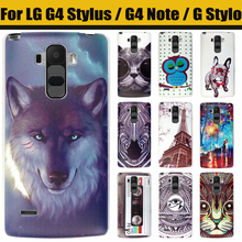 Buy JURCHEN Case LG G4 Stylus Case Cover Case LG G Stylo LS770 / G4 STYLUS / G4 Note Phone Case Cartoon Hard Cute stock for $1.79 in AliExpress store
