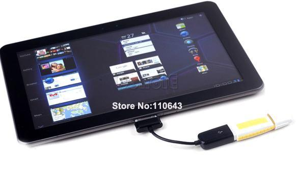 USB OTG Host Cable Connection Adapter for Samsung Galaxy Tab 2 10.1 8.9 7.7 7.0 Plus  8706
