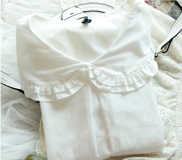 Buy white cotton shirt peter pan collar for White cotton shirt peter pan collar