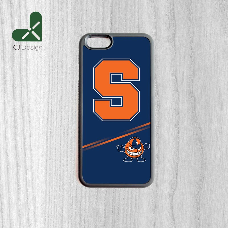 1pcs Syracuse orange Pattern Custom Made Back Phone Accessories Protective Cover For iPhone 6 6s And 4 4s 5 5s 5c 6 Plus Cases(China (Mainland))