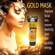 120ml 24K golden mask Anti wrinkle anti aging facial mask face care whitening face masks skin care face lifting firming S127(China (Mainland))