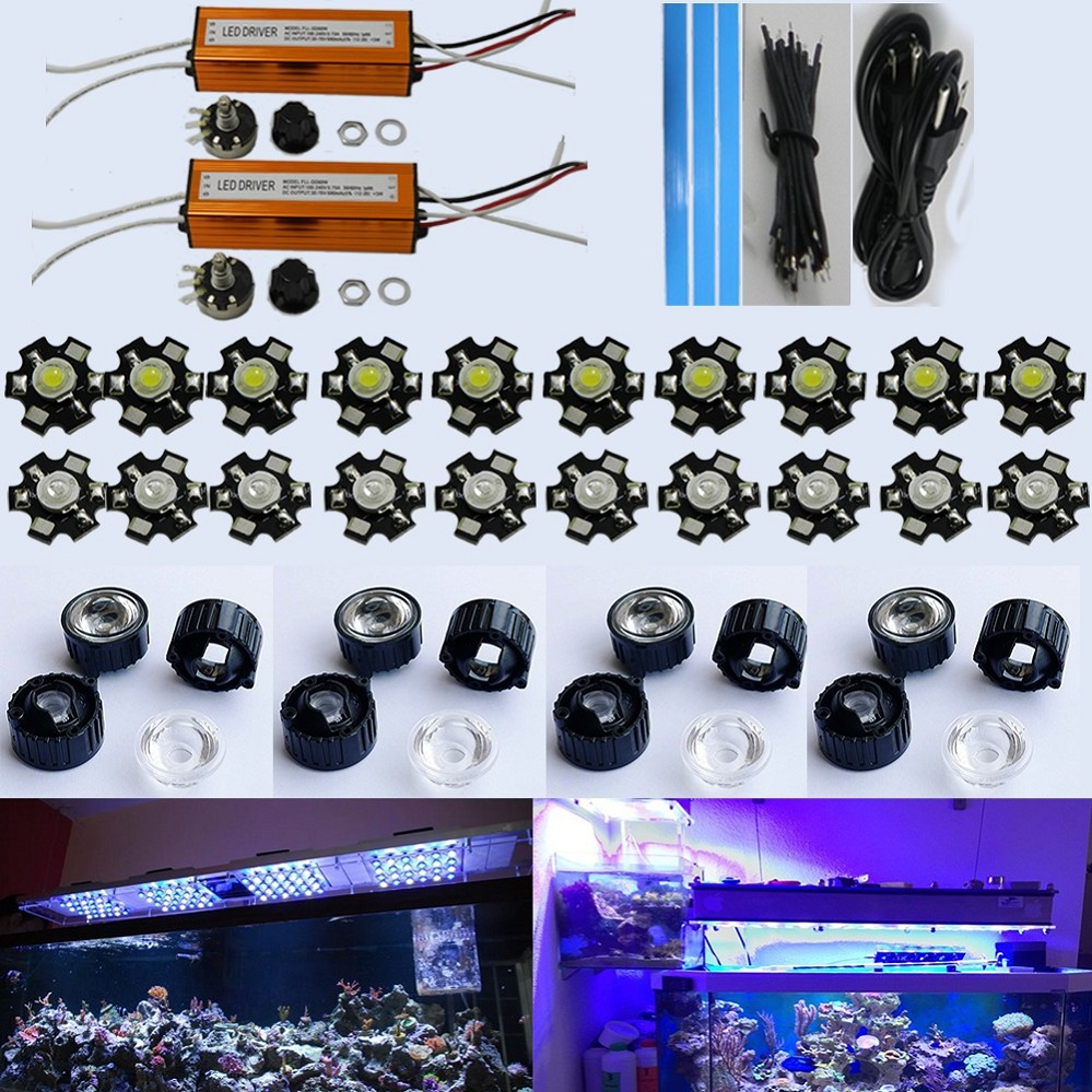 Free shipping DIY dimmable led coral reef aquarium lights 150W with 50x3W,CE/ROHS approved,dropshipping<br><br>Aliexpress