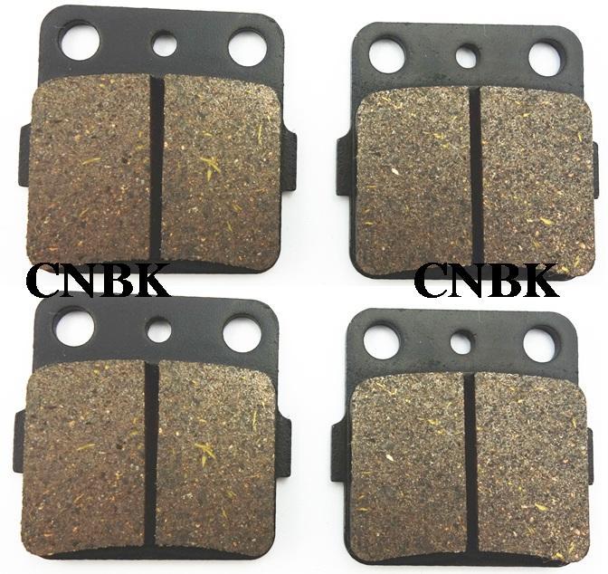 FL+FR Brake Pads Set fit HONDA 420 TRX Fourtrax Rancher TRX420 2008 2009 2010 2011 2007 - 2012(China (Mainland))