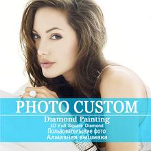 Photo Custom! Private custom! 5D DIY Diamond Painting! Make Your Own Diamond Painting Full Square Diamond Rhinestone Embroidery(China (Mainland))