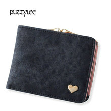 Buy New Woman Wallet Small Hasp Coin Purse Women Luxury Leather Female Wallets Design Brand Mini Lady Purses Clutch Card Holder for $7.21 in AliExpress store