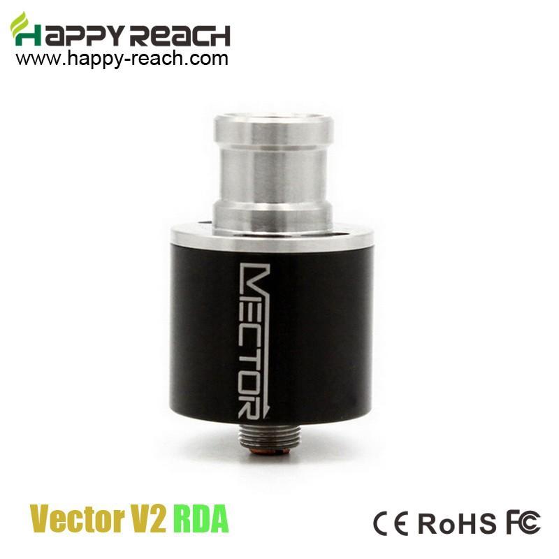 3pcs Top Quality Rebuildable Vector V2 RDA Atomizer Vector RDA Copper pin Leak-free Vaporizer Vector Airflow Control(China (Mainland))
