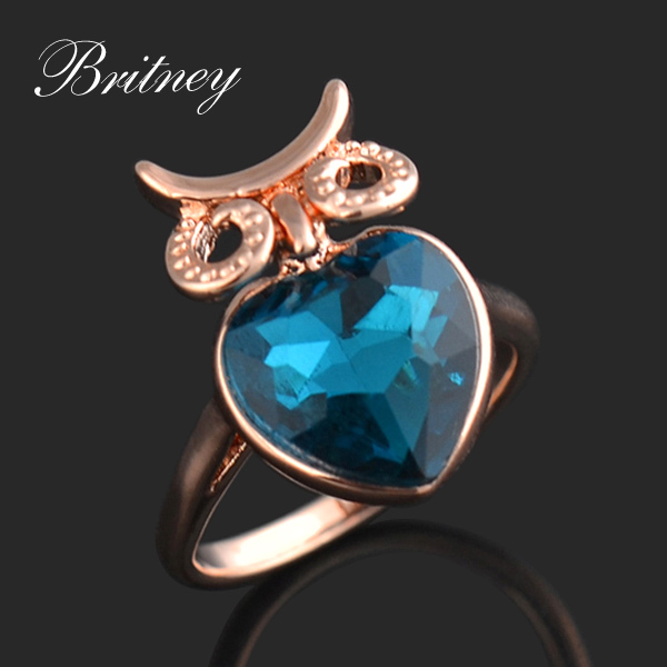 Free shipping fashion women finger rings,high quality bridal Ring,The newest hot sale bird ring Jewelry RW085(China (Mainland))