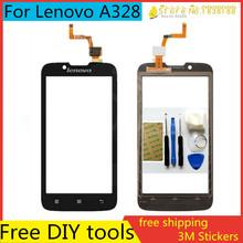 Tools+4.5″ Original Mobile Phone Touch Screen Sensor Digitizer Glass Panel For Lenovo A328 A328T Top Touchscreen Highscreen