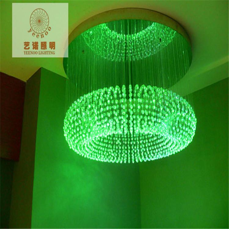 fiber optic star ceiling kit led fiber optic lights Crystal Garden Villa car fiber optics led fibre(China (Mainland))