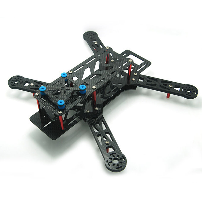 QAV250 C250 Glassy Carbon Mini 250mm FPV 4-Axis Quadcopter Frame Mini Quad Frame(China (Mainland))