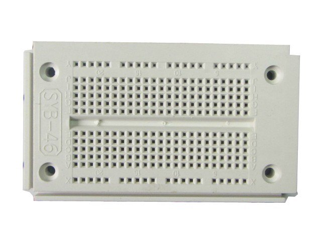 SYB-46  9.05CM*5.26CM*0.86CM, Universal Solderless board, 270 Tie-point, breadboard, testboard, Jjump wire available  10pcs/lot