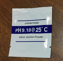Buy 20 bags /lot PH Buffer Powder 9.18 PH Test Meter Measure Calibration Solution for $4.74 in AliExpress store