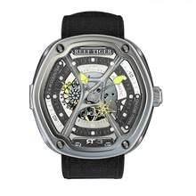 Reef Tiger/RT หรูหรานาฬิกาผู้ชายนาฬิกากันน้ำยี่ห้อนาฬิกาอัตโนมัติส่องสว่างนาฬิกาดำน้ำ Relogio Masculino RGA90S7(China)