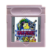 Cavenoire Game Cartridge Console Card English Language US Version for GB Color Handheld Game Player