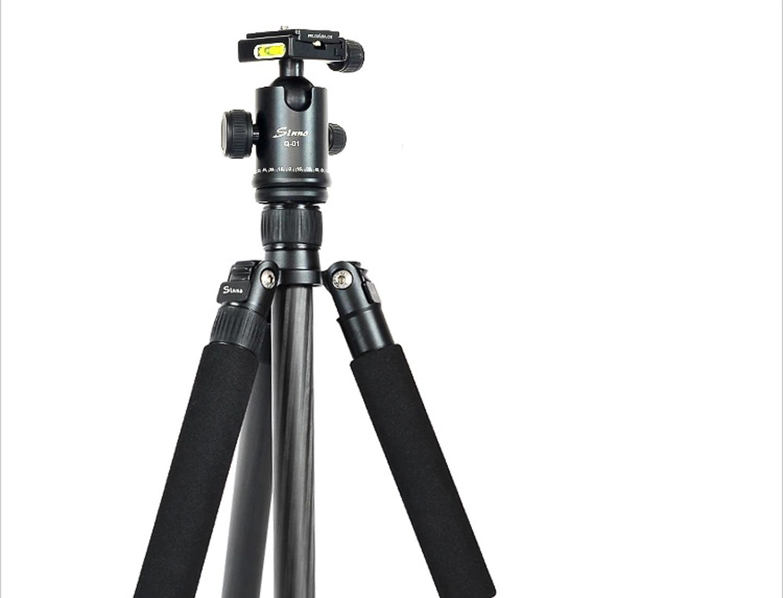 Q13723 Sinno Q-3428Z Professional Carbon Fiber Portable Tripod Kit Adjustable Monopod with Ball Head for SLR DSLR Camera +FS<br><br>Aliexpress