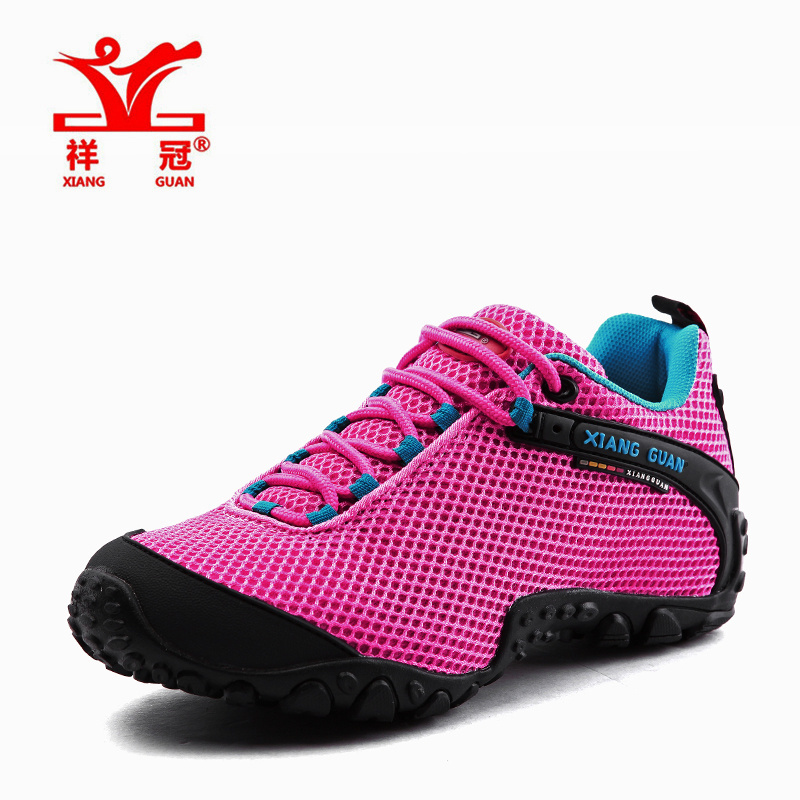 Фотография Xiang Guan womens brand spring and fall fashion casual breathable mesh sport outdoor hiking trekking shoes,Euro size 36-44