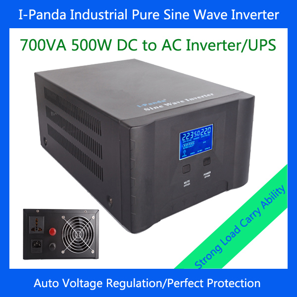 500w stable output power inverter with charger AVR 500W inverter pure sine wave for home solar system(China (Mainland))
