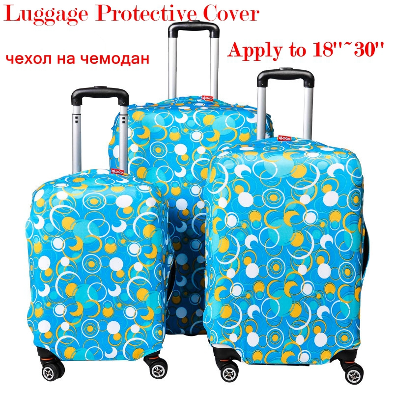 Wholesale Luggage Protective Cover Perfectly Stretch Thick Elastic Size S/M/XL Apply to 18~30'' Trunk Cases Registered Mail Free(China (Mainland))