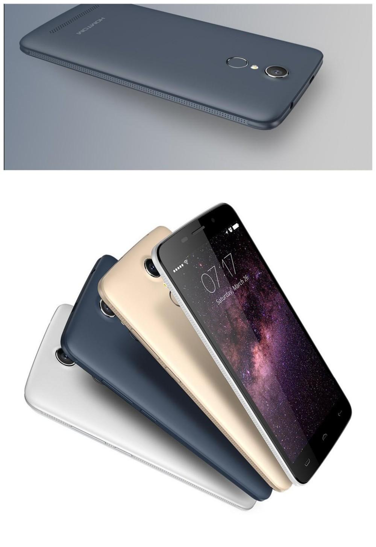 HOMTOM HT17 MTK6737 Quad Core 4G LTE Smartphone 5.5 inch Android 6.0 1GB+8GB OTG 13.0MP fingerprint Mobile Phone