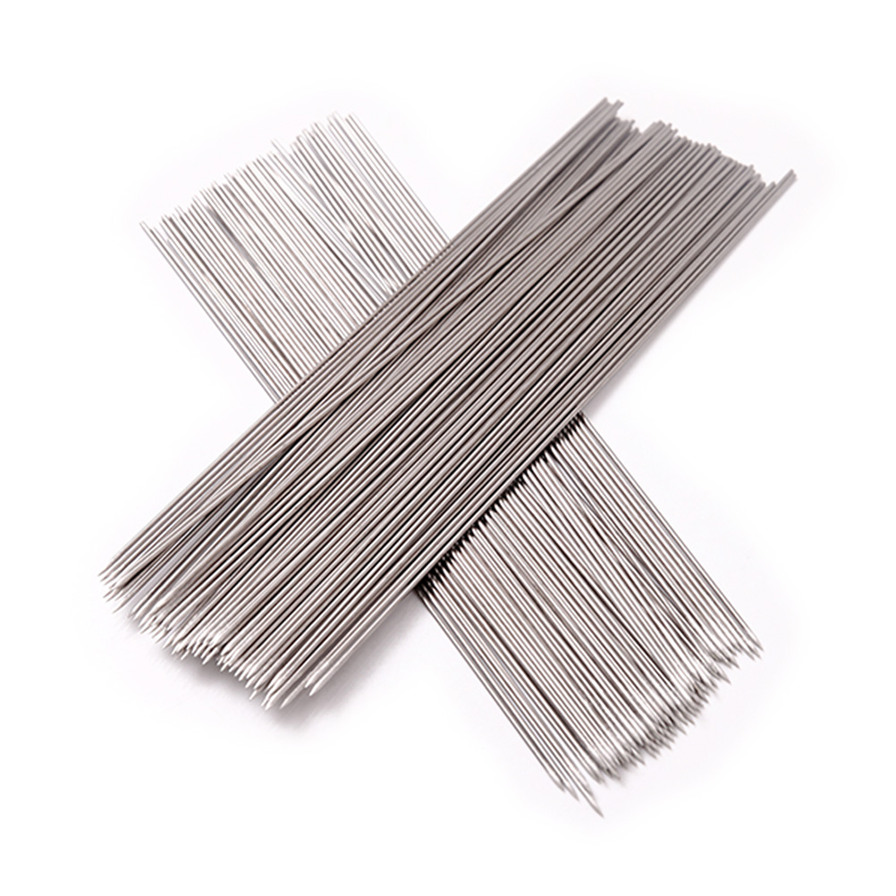 100pcs Stainless Steel Barbecue Grilling BBQ Needles Sticks Skewers (Silver)(China (Mainland))