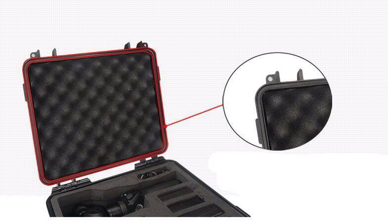 DJI OSMO luggage storage stabilizer suitcase portable protective battery compartment Accessories
