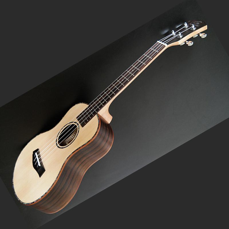 High Quality Veneer Ukulele 4 String Hawaiian Guitar 23/26 inch Spruce Ukulele Chibson Acoustic guitar Rosewood Fingerboard(China (Mainland))