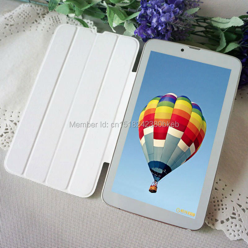 """The Cheapest 7 Inch 3G Phone Call Android Tablets PC Tab Pad Dual Core 8GB ROM Dual SIM Card WIFI Bluetooth GPS OTG 7"""" Phablet(China (Mainland))"""