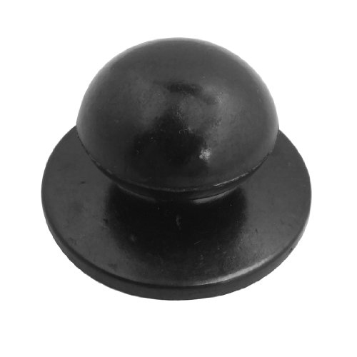 Best Selling  4.71mm Screw Black Plastic Cookware Pot Pan Lid Round Knob Replacement<br><br>Aliexpress
