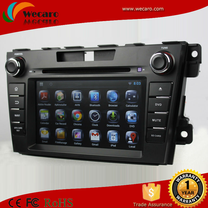 Andorid 4.4 2 din gps for mazda cx 7 car dvd gps navigation system with GPS navigation 3G/WIFI bluetooth IPOD TV AUX IN(China (Mainland))