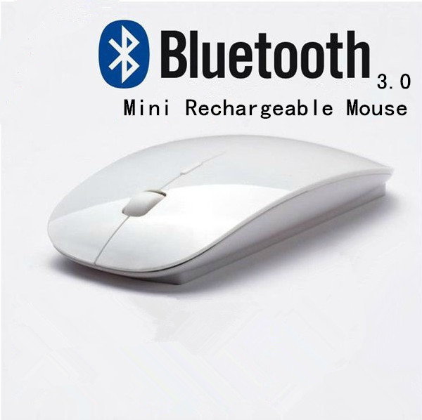Ultra-thin bluetooth 3.0 Silent mouse 1600 dpi mini wireless bluetooth mouse For windows XP Vista Win 7 8 Laptop Notebook(China (Mainland))