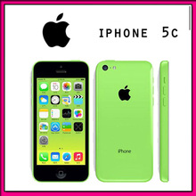 Original iPhone 5C unlocked iphone Dual-core iOS 7 1G RAM 16G ROM 4.0 inches 8MP Camera Iphone5C WIFI GPS 4G Cell Phone(China (Mainland))