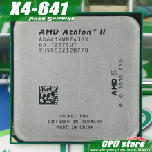 Buy Free AMD X4 641 Quad-Core FM1 2.8GHz 4MB 100W CPU processor pieces X4-641 (working 100%) 641,there are, sell X4 631 for $12.88 in AliExpress store