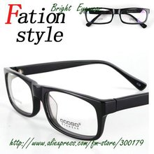 Fashion popular acetate material feyeglasses eye glasses frame ready-made wholesale multi-color available(China (Mainland))