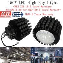 150W Led High Bay Light Led Industrial Machine Sewing Lamp Cree Meanwell Gas Station Light Sewing Lamp Led Led Workshop Lights(China (Mainland))