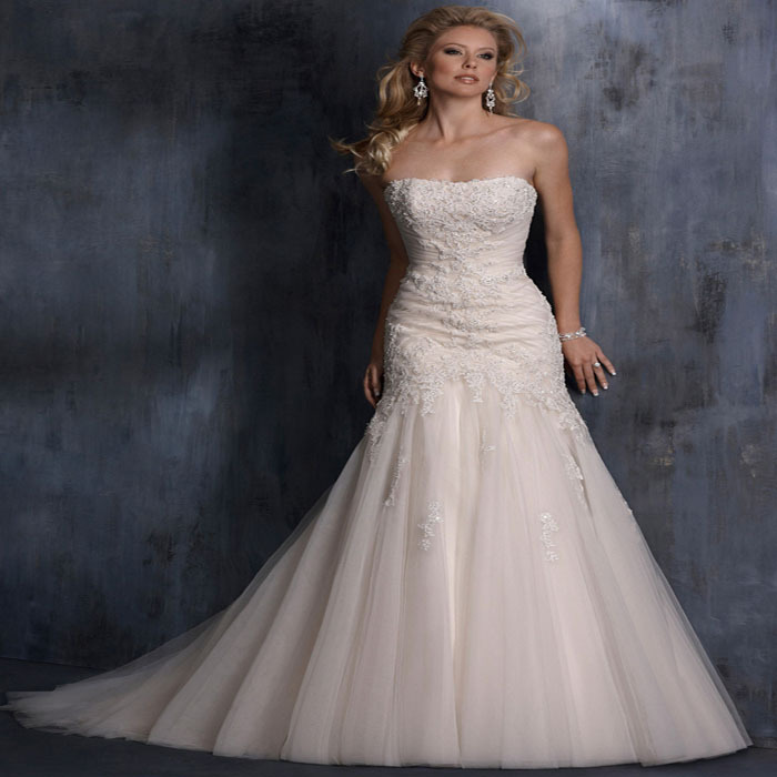 The new europe and the united states wedding dress tail for Wedding dresses in the usa
