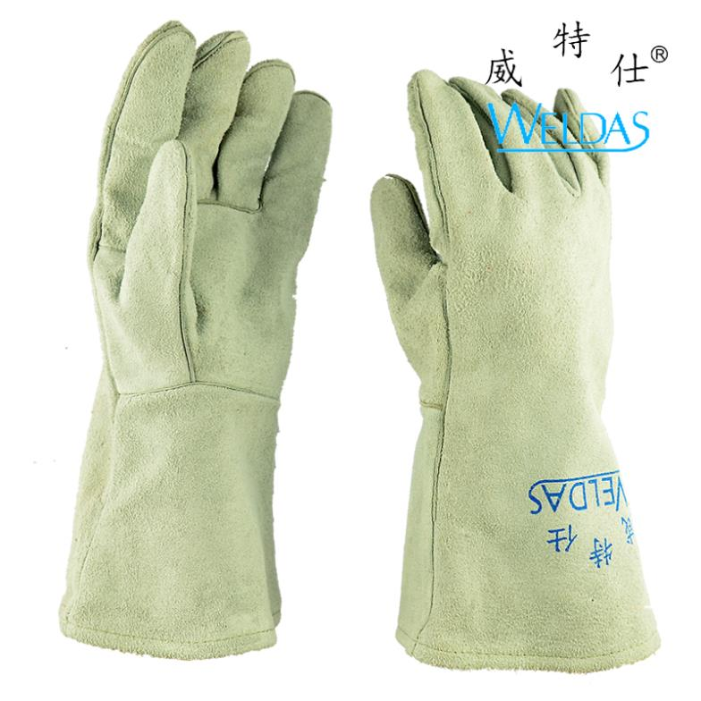 Wei Teshi absorbent cotton lining welder welding welding gloves labor protective gloves pure cowhide<br><br>Aliexpress