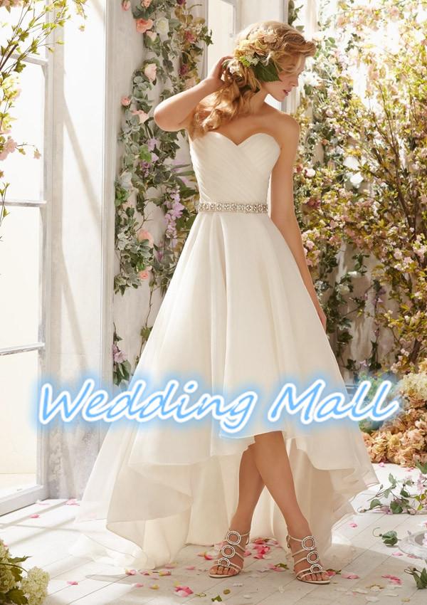 Fashionable boho wedding dress 2015 designer chiffon for High low wedding dresses cheap