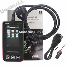 100% Launch CReader VII Automobile Full-System X431 CREADER 7 Fault Code Reader Launch Creader VII Update on line Free Shipping(China (Mainland))