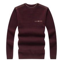 2017 spring new arrival Men's fashion printed high quality woolen sweater men long sleeve sweaters Free shipping(China (Mainland))