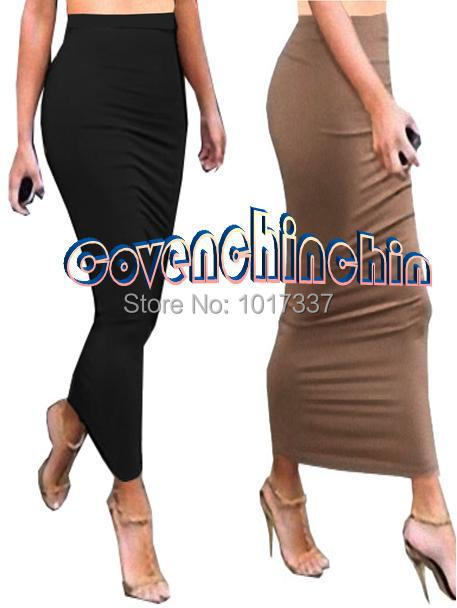 Long tight dress tube – The most popular models skirts