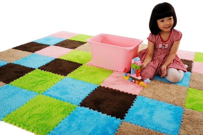 Woonkamer Matten : Eva Foam Mat Velvet Shaggy Carpet