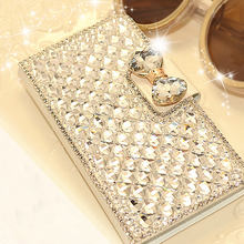 Buy Haissky Luxury Bling Diamond Rhinestone Phone Case Samsung Galaxy S8 Plus S6 S5 S4 S3 A3 A5 A7 2016 Flip Leather Case Stands for $5.47 in AliExpress store