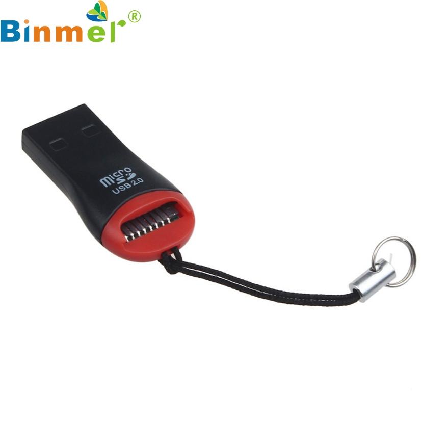 J25 Mecall Tech New High Speed USB 2.0 Mini Micro SD T-Flash TF M2 Memory Card Reader Free Shipping #6370(China (Mainland))